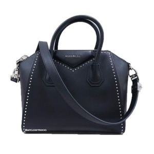 Givenchy Small Studded Black Antigona